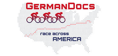 Logo German Docs race across America